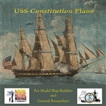 USS Constitution Plans CD