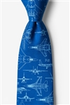 Tie: Cool Your Jets (Navy Blue)
