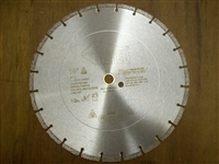 "Diteq DXS 14"" Diamond Blade for Cured Concrete"