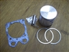 Piston Complete for Partner K750, Husqvarna K750 / K760 Cutoff Saw w/ Gasket