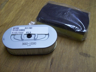 Mikasa Mtx 60 Mtx 70 Mtx 80 Mtx 90 Air Filter Set