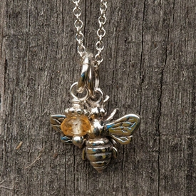 Itty Bitty Mama Bee Necklace