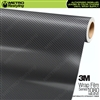3M Scotchprint 1080 SF201 Straight Fiber Anthracite Vinyl Flex Wrap