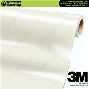 3M Mystic Silver Wrap Overlaminate 8900-G301