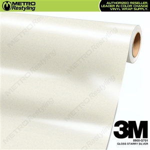 3M Starry Silver Wrap Overlaminate 8900-G701