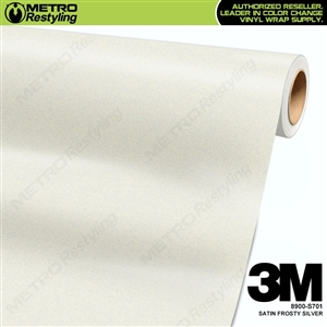 3M Frosty Silver Wrap Overlaminate 8900-S701