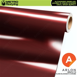 Arlon Ultimate PremiumPlus Gloss Bloodbath Chrome Vinyl Wrap Film
