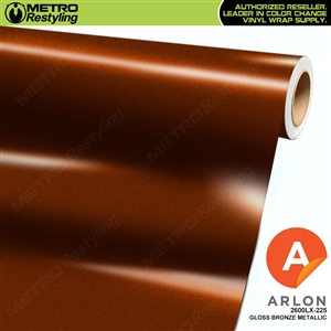 "Arlon Ultimate PremiumPlusâ""¢ Vinyl Wrap Film Gloss Bronze Metallic 225"