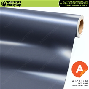 "Arlon Ultimate PremiumPlusâ""¢ Vinyl Wrap Film Gloss Blue Pearl 312"