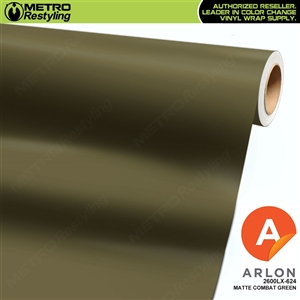 "Arlon Ultimate PremiumPlusâ""¢ Vinyl Wrap Film Matte Combat Green 624"