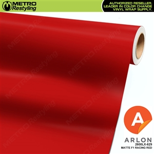 "Arlon Ultimate PremiumPlusâ""¢ Vinyl Wrap Film Matte F1 Racing Red 629"