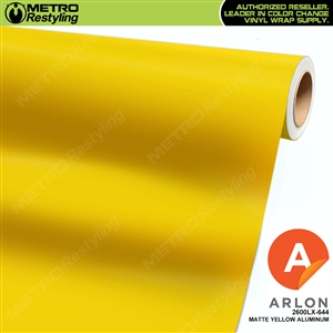 "Arlon Ultimate PremiumPlusâ""¢ Vinyl Wrap Film Matte Yellow Aluminum 644"