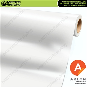 Arlon PerformancePlus Vinyl Wrap Film Gloss White 102