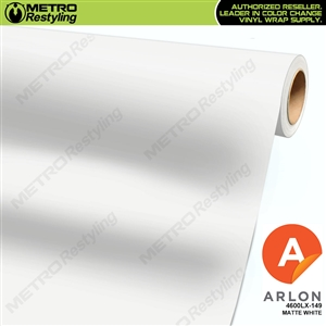 Arlon PerformancePlus Vinyl Wrap Film Matte White 149
