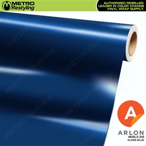 Arlon PerformancePlus Vinyl Wrap Film Gloss Blue 305
