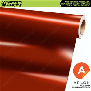 Arlon PerformancePlus Vinyl Wrap Film Gloss Roasted Red 319