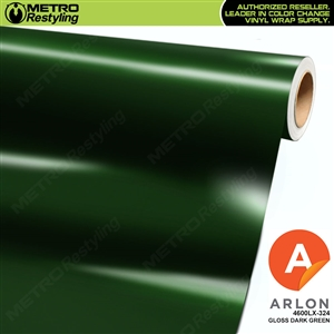 Arlon PerformancePlus Vinyl Wrap Film Gloss Dark Green 324