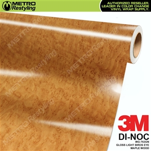 3M DI-NOC Light Birds Eye Maple WOOD GRAIN VINYL