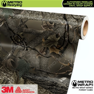 HD Forest Camouflage Vinyl