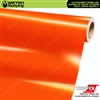ORACAL Series 970RA Glossy Municipal Orange Vinyl Wrap Film W/Rapid Air