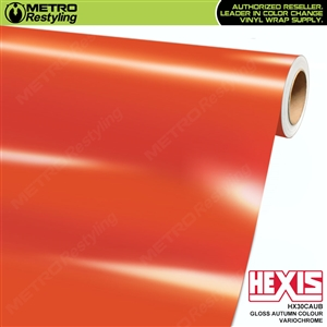 Hexis Gloss Autumn Colour Variochrome Vinyl Wrap | HX30CAUB