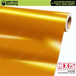 Hexis Gloss Imperial Yellow Vinyl Wrap | HX30JIMB