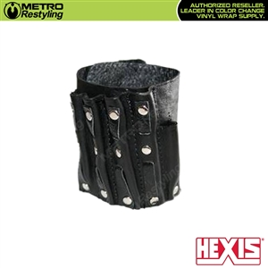 Hexis Leather Wrist Band