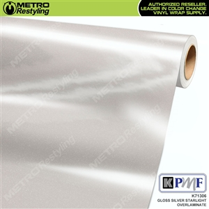 KPMF Speciality Over-Laminating Films Silver Starlight