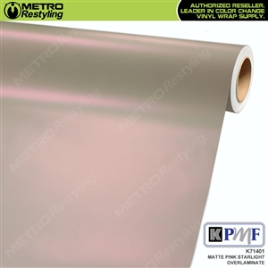 KPMF Speciality Over-Laminating Films Pink Matte Starlight