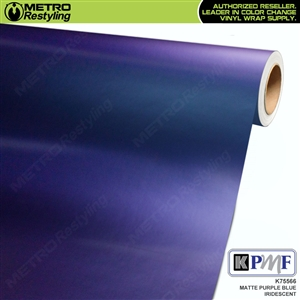 KPMF Matte Purple Blue Iridescent Vehicle Wrap Film