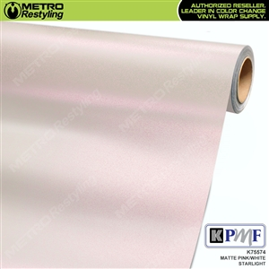KPMF Matte Pink White Starlight Vehicle Wrap Film