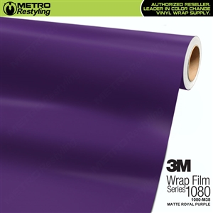 3M 1080 Scotchprint Matte Royal purple Vinyl Wrap
