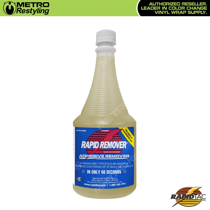Rapid Tac Rapid Remover 32oz Helps Removing Adhesive