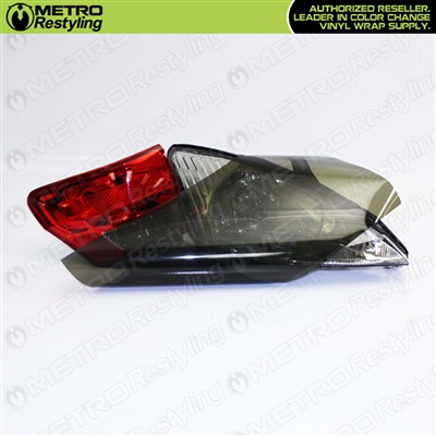 Smoke Out Tail Light Vinyl Film