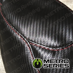 Carbon Fiber Upholstery Fabric Sample