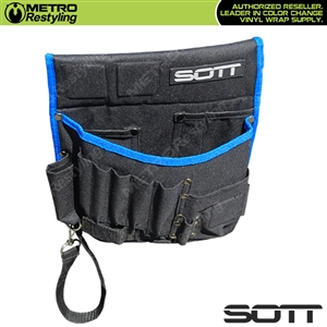 Sott Professional Wrap Tool Bag / Pouch - Black