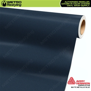 Avery SW900 Supreme Wrapping Film Blue Matte Metallic