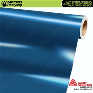 Avery SW900 Supreme Wrapping Vinyl Film Gloss Intense Blue