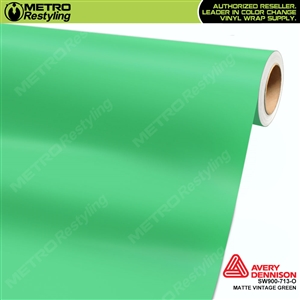 Avery SW900 Supreme Wrapping Vinyl Film Matte Vintage Green