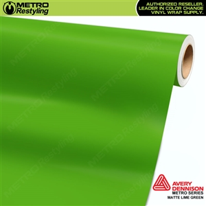 Avery SW900 Supreme Wrapping Vinyl Film Matte Lime Green