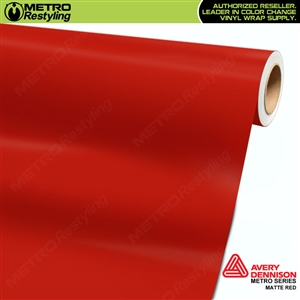 Avery SW900 Supreme Wrapping Vinyl Film Matte Red