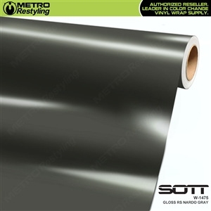 Sott Wrap Collection Gloss Nardo Grey | W-1475