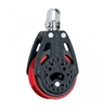 57 mm Ratchet Block — Swivel, Red Sheave