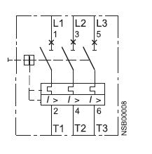 Siemens 3RV1011-1KA10 Manual Motor Starter adjustable from