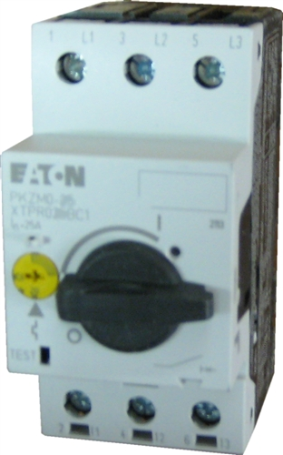 Eaton Pkzm0 10 Motor Starter That Adjusts From 6 3 10 Amps