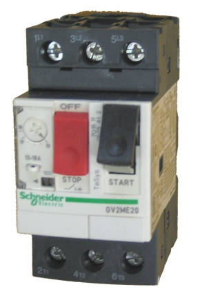 Gv2me20 Schneider Electric Manual Motor Starter Circuit