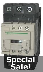 Schneider Electric LC1D40A 3 pole Contactor