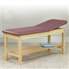 "Clinton Treatment Table with Shelf Lift Back 30"" x 72"""