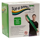 Sup-R Band Latex Free Exercise Band Green Medium
