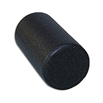 "Black High Density Foam Roller 6"" x 12"""